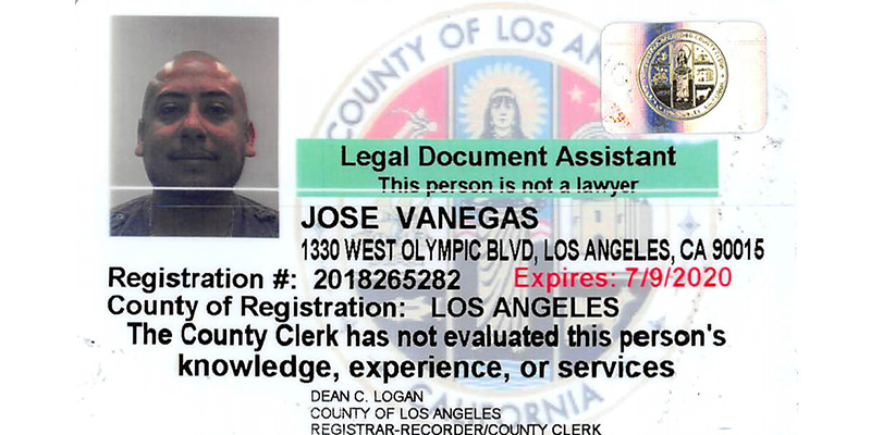 Jose Vanegas Paralegal of Progresso Legal Group P.C.